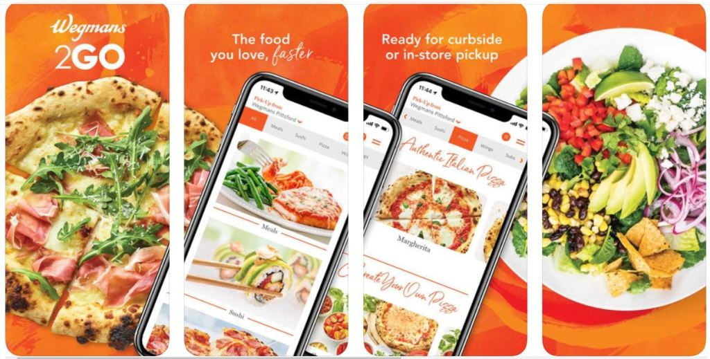 The Spring Swirl and Wegmans Meals 2GO Making Dinners Easier