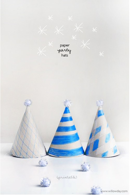 DIY Paper Hat with printable