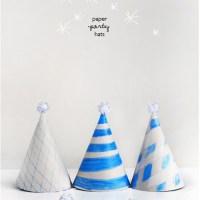DIY Paper Hat with printable