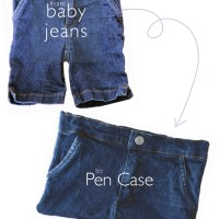 DIY: Pen Case from Recycled Jeans