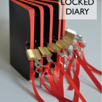 DIY: Diary with lock