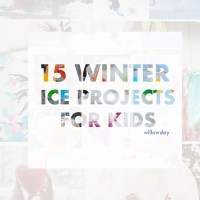 15 Ice Projects to make with kids