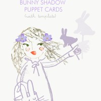 Bunny Shadow Puppets