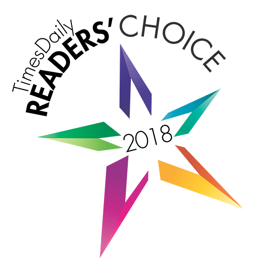 Readers Choice Award 2018 - Times Daily