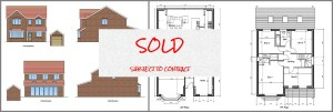 plot 1 houses for sale woodville derbyshire SOLD