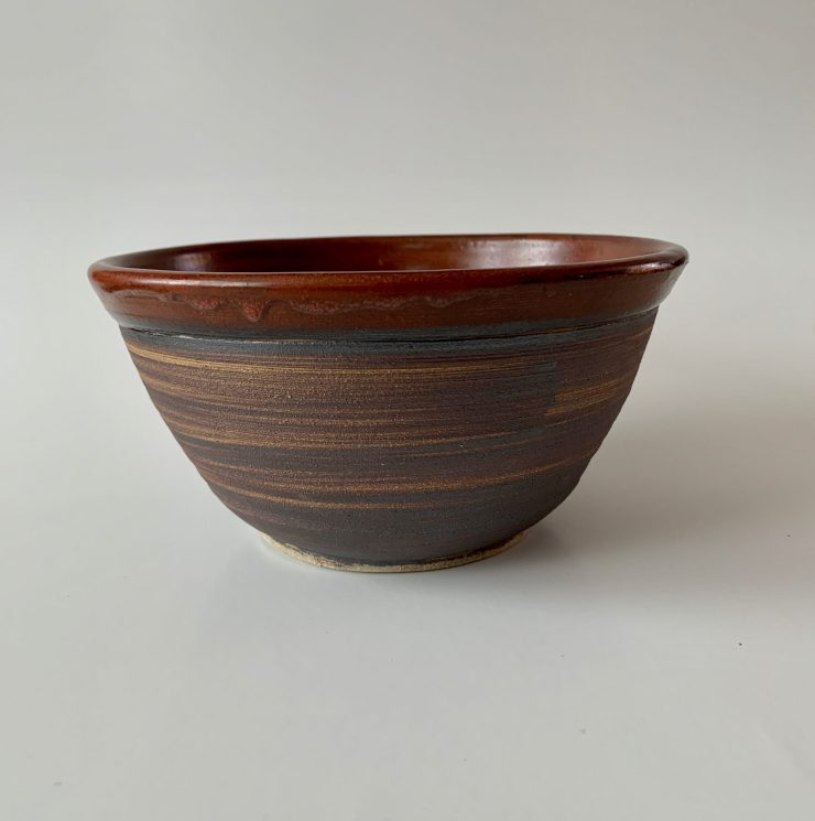 Rustic Red Bowl