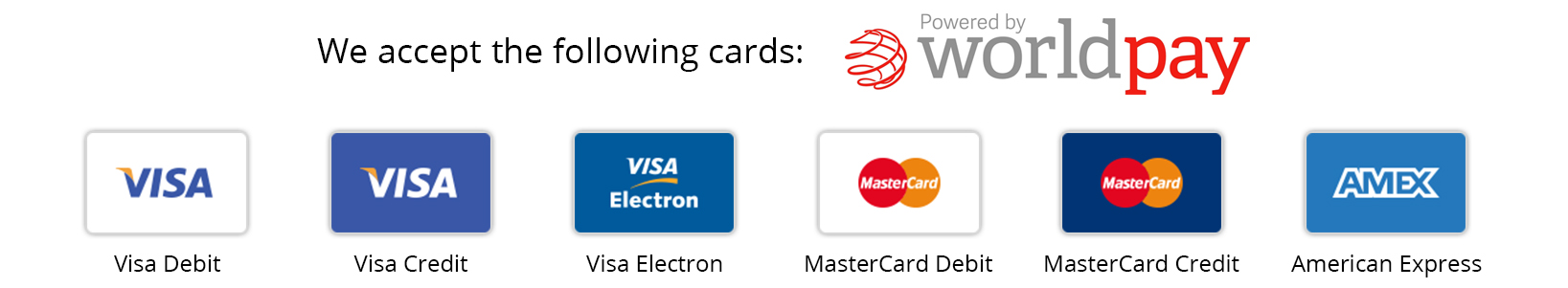WorldPay Credit Cards