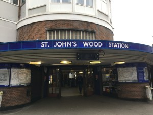 St John's Wood Tube Station
