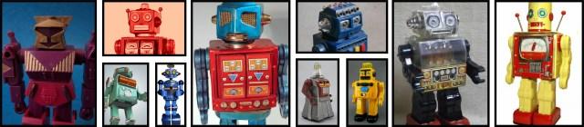 Vintage Toy Robots