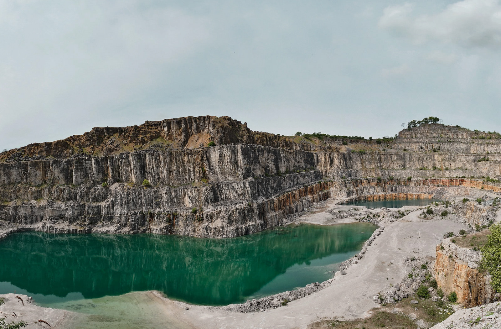 Derbyshire Quarry  Will Pearson  Panoramic Photographer London