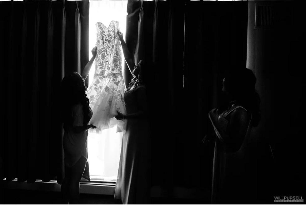 Vancouver lace wedding dress