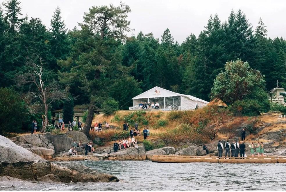 rockwater secret cove outdoor wedding