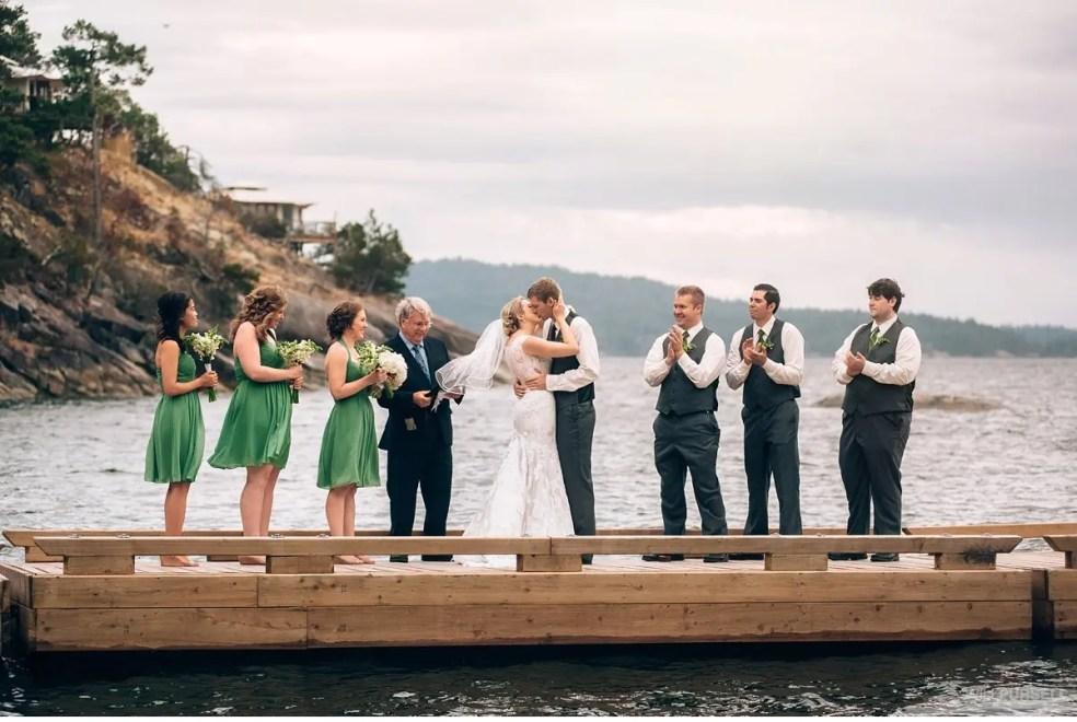 rockwater dock wedding