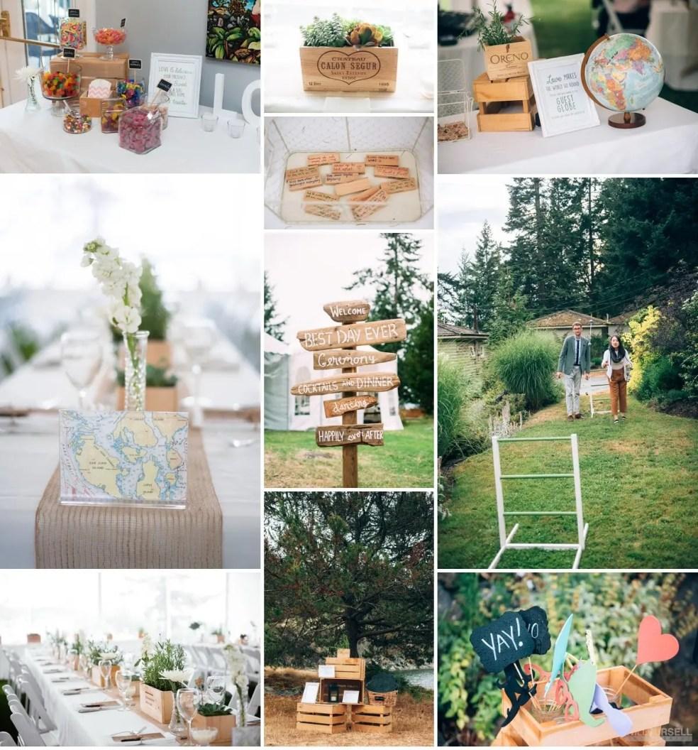 sunshine coast rustic wedding