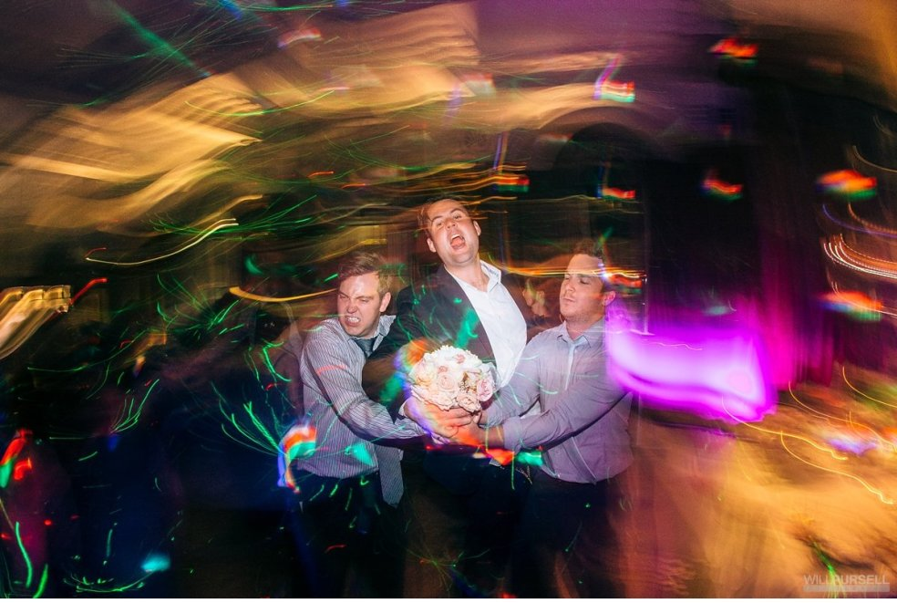 Vancouver Club wedding party