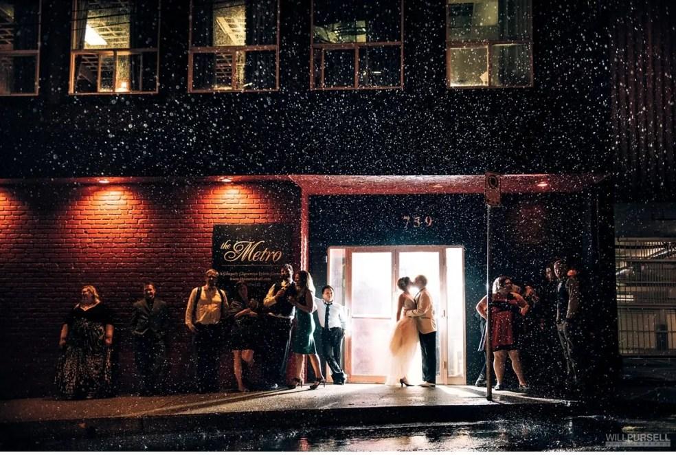 night photo rain