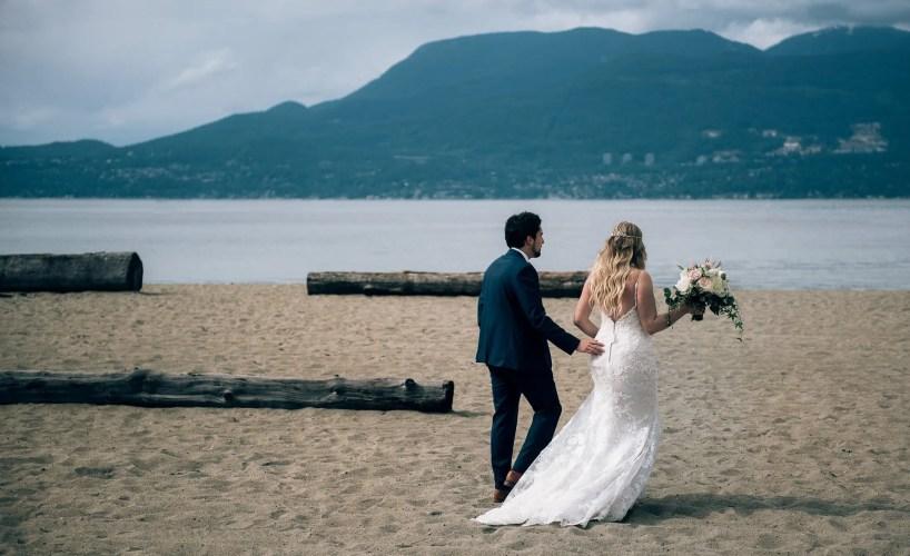 jericho beach wedding