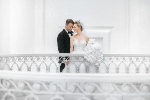 vancouver art gallery wedding photos