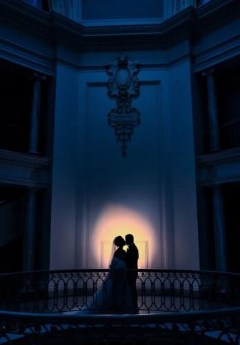 art gallery wedding