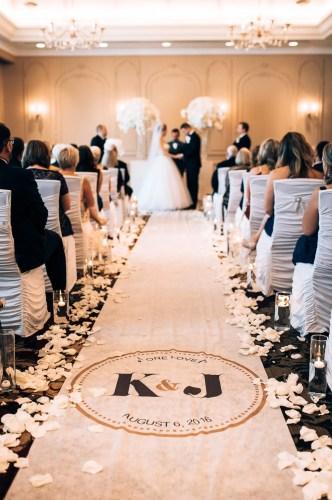custom wedding runners