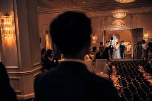 024 hotel georgia wedding ceremony