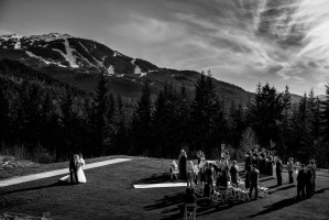 outdoor whistler wedding photography