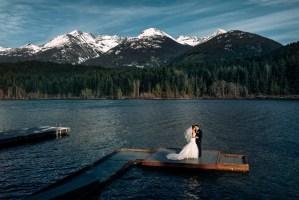 green lake whistler wedding
