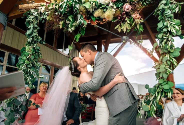 wedding Roundhouse Lodge whistler