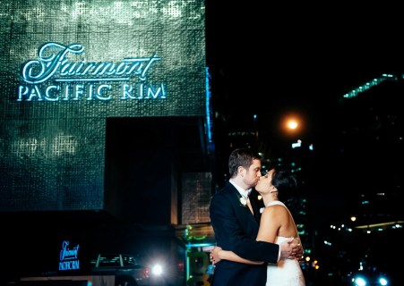 fairmont pacific rim wedding vancouver