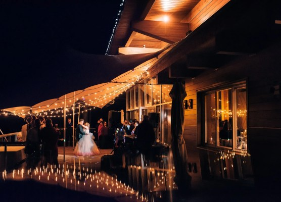 rustic tent weddings