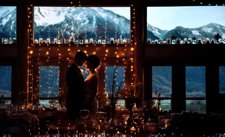 rustic venues with mountains