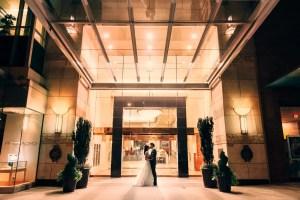terminal city wedding night photo
