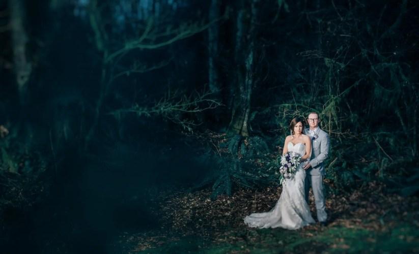 rainforest wedding photos