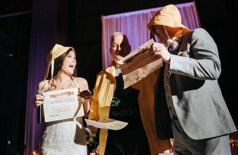 Getting Screeched wedding