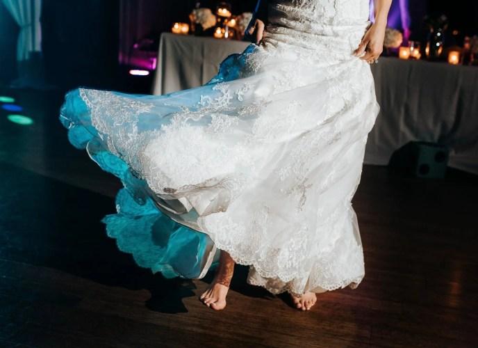wedding dance barefoot