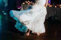 Barefoot Dancing at Wedding