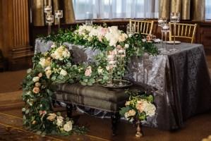 019 - floral wedding details vancouver