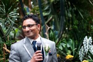 bloedel conservatory garden wedding