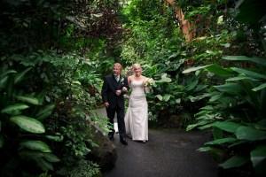 bloedel conservatory wedding ceremony