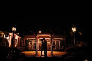 030 - night wedding photo rowenas inn