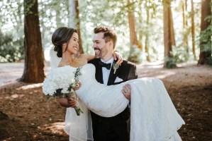 009 - wedding photo stanley park forest
