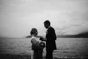 intimate elopement vows