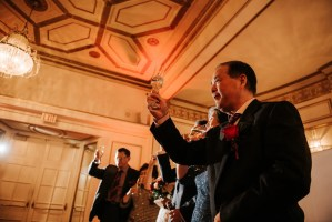Fairmont Hotel Vancouver Chinese wedding