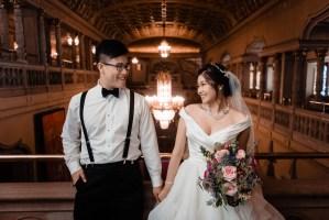 008 - wedding couple orpheum theatre