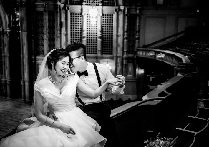 015 - theater wedding vancouver
