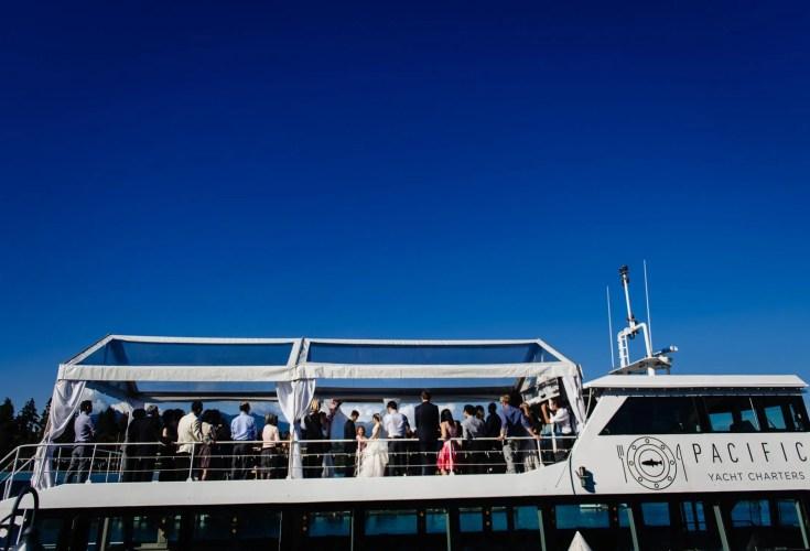 021 - boat wedding ceremony vancouver