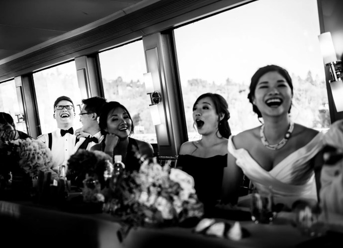 029 - speaches Magic Yacht Charters wedding