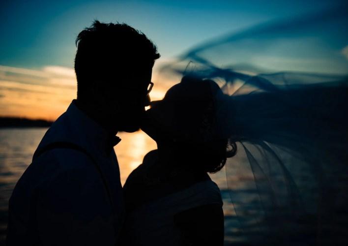 034 - sunset wedding photos vancouver
