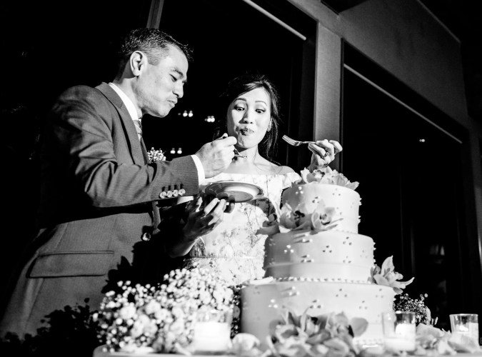 019 - wedding cake north vancouver