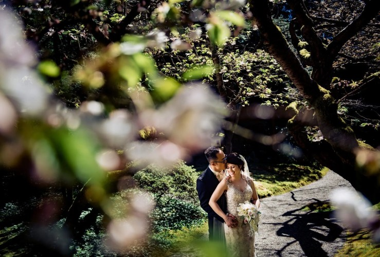 005 - vancouver cherry blossom wedding photography